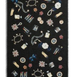 Chanel Cashmere shawl classic accessory
